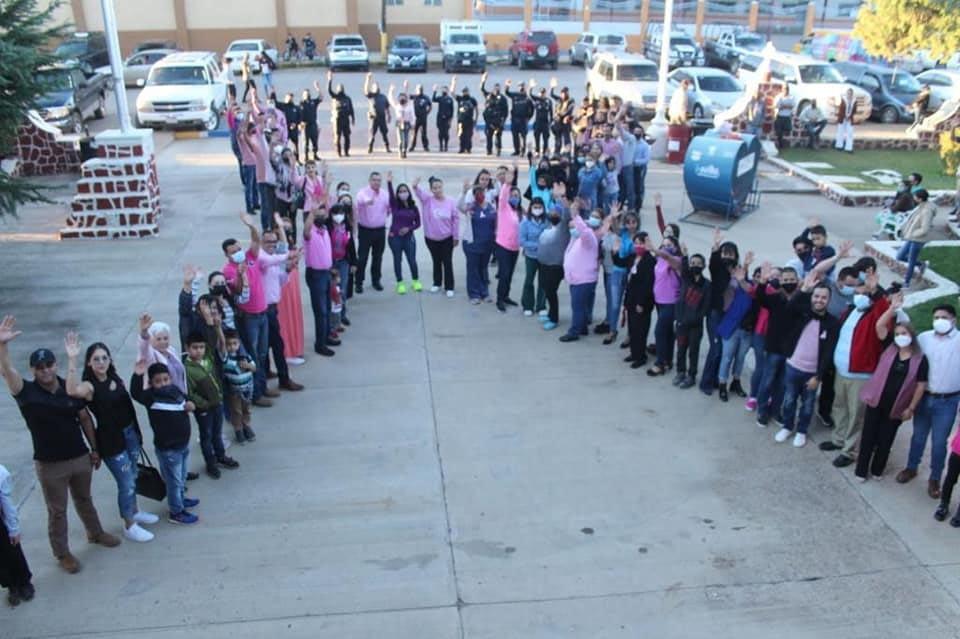 Lee más sobre el artículo CONTINÚAN ACCIONES DEL «MES ROSA» EN EL MUNICIPIO.