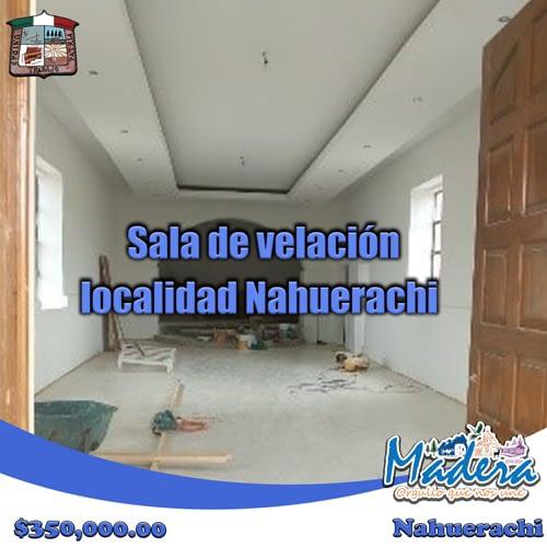Sala-de-velación,-localidad-de-Nahuerachi