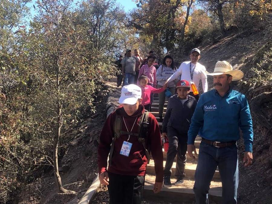 Se Presenta Gran Respuesta Turística en Municipio de Madera en Vacaciones de Semana Santa