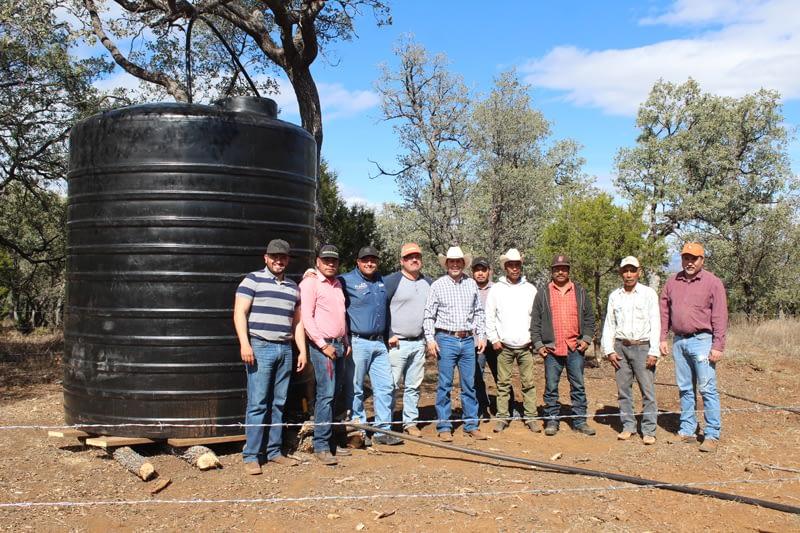 Se Instala Bombeo De Agua Potable En Mesa Del Garabato.